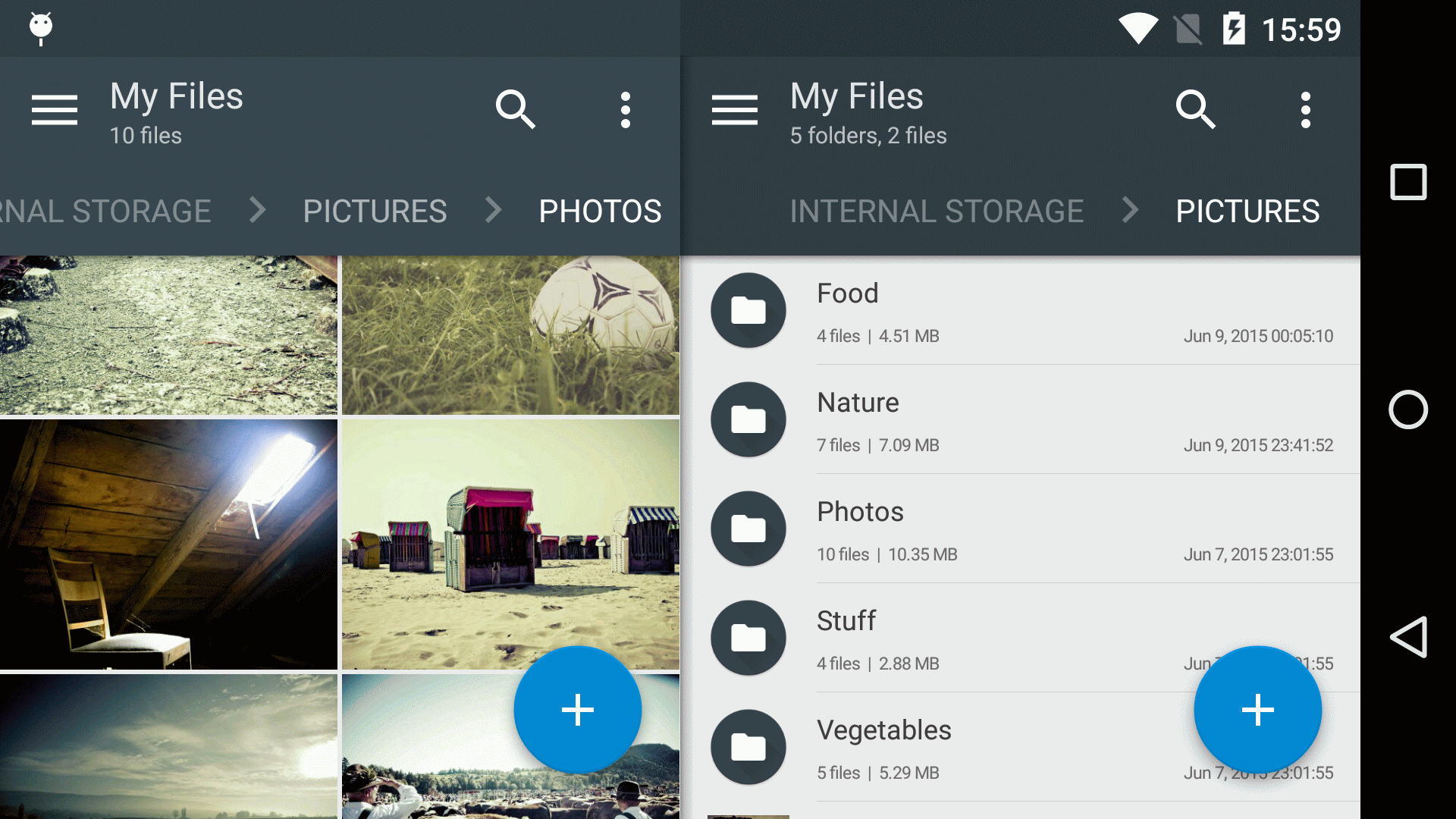Solid Explorer - a powerful Android file manager
